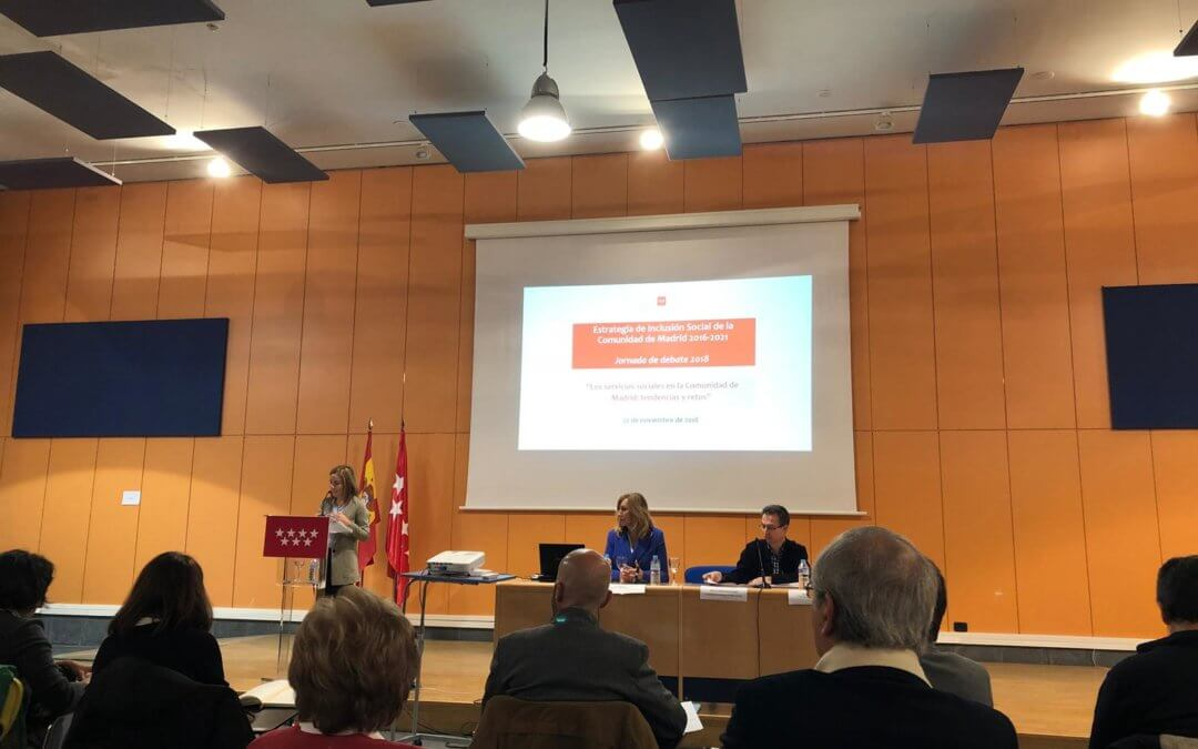"""Jornada de debate 2018: """"Los servicios sociales en la Comunidad de Madrid: tendencias y retos"""""""