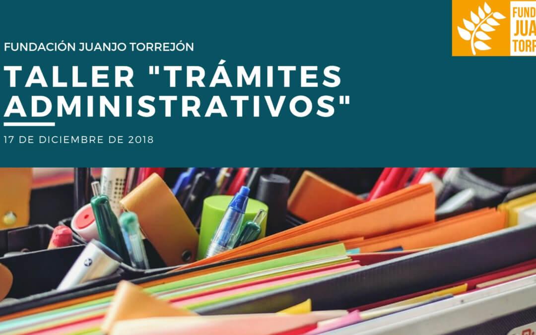 """Taller """"Trámites Administrativos"""""""
