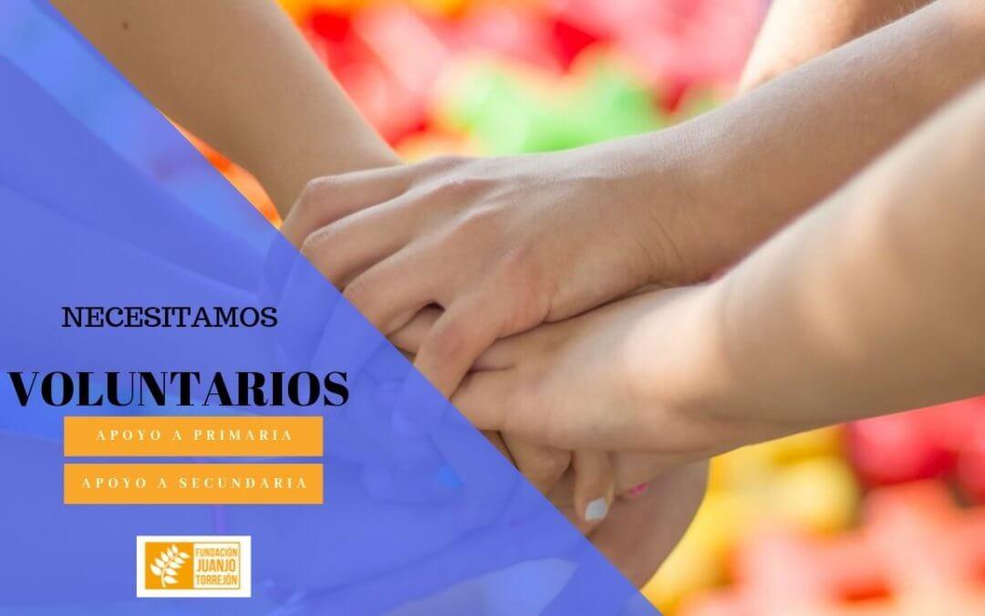 La Fundación Juanjo Torrejón necesita voluntariado