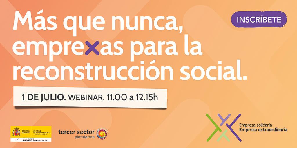 """Webinar para conocer la casilla """"empresa solidaria"""" del Impuesto de sociedades"""