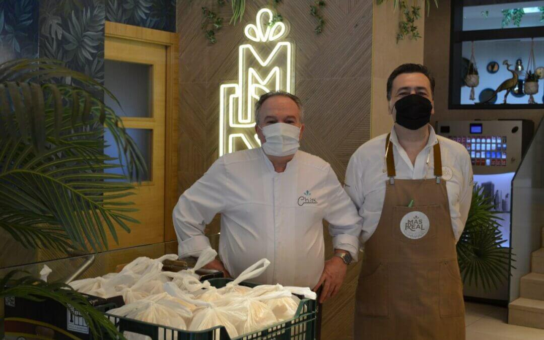 Fundación Juanjo Torrejón continúa el proyecto Social Food Service junto a Restaurante Más Real