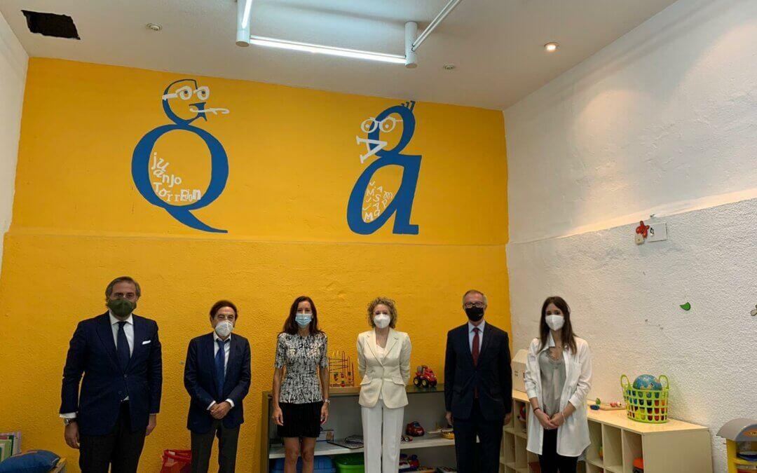 Fundación Juanjo Torrejón recibe la visita de la consejera de Presidencia de la Comunidad de Madrid