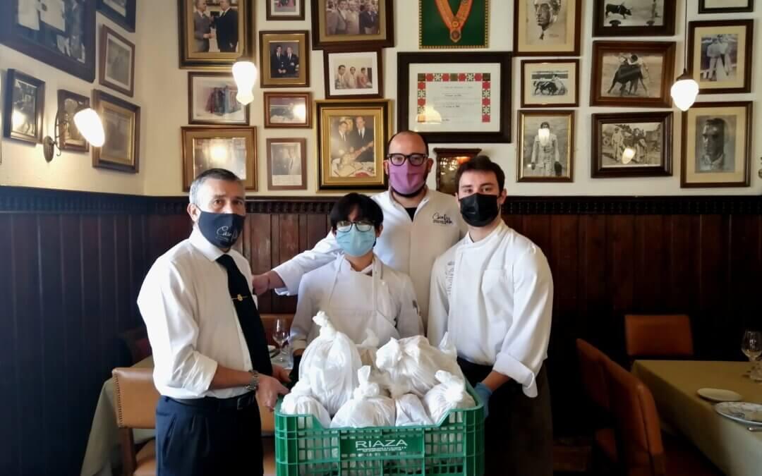 Fundación Juanjo Torrejón continúa el proyecto Social Food Service al lado de Restaurante Casa Pablo