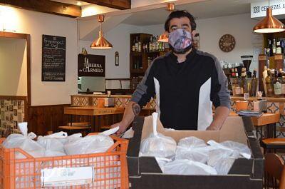 Fundación Juanjo Torrejón continúa el proyecto Social Food Service junto a La Taberna de Carmelo