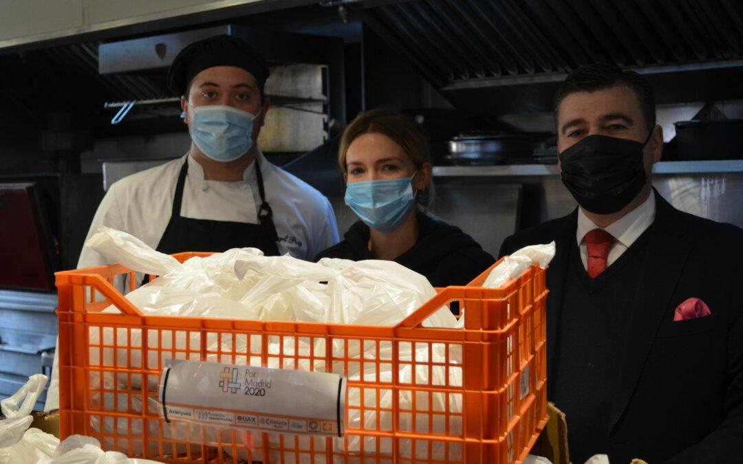 Fundación Juanjo Torrejón continúa el proyecto `Social Food Service´ junto a Casa José