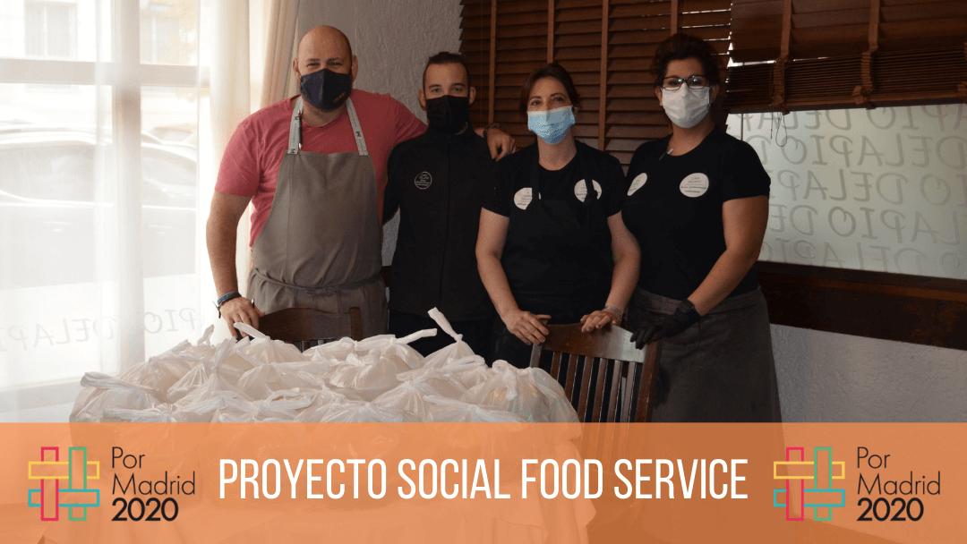 Fundación Juanjo Torrejón pone un punto y aparte al proyecto Social Food Service junto a Casa Delapio