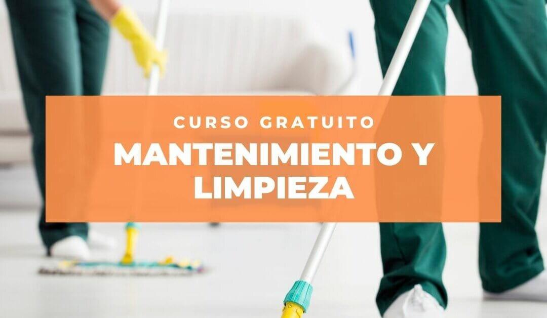 Últimas plazas para el curso gratuito de Mantenimiento y Limpieza que organiza Fundación Juanjo Torrejón en Aranjuez