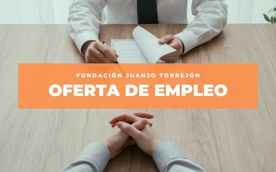 Oferta de empleo como Terapeuta Ocupacional en Fundación Juanjo Torrejón