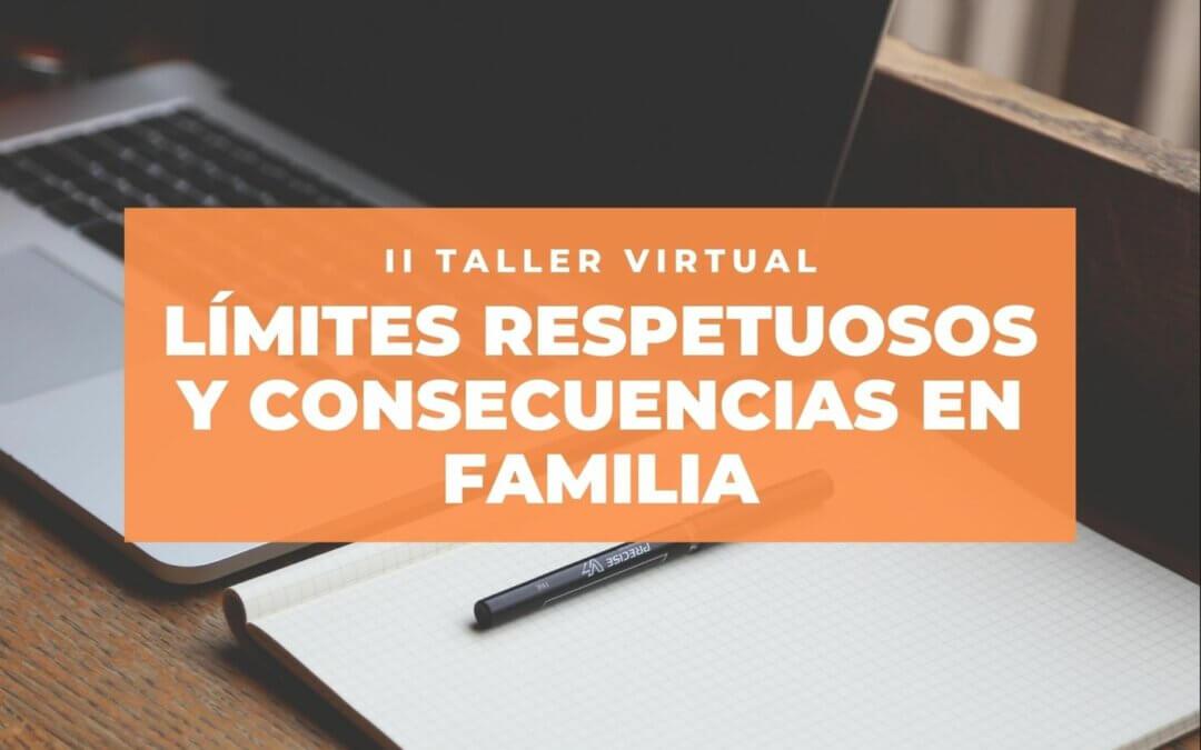 """El Taller """"Límites respetuosos y consecuencias en familia» cambia de fecha"""