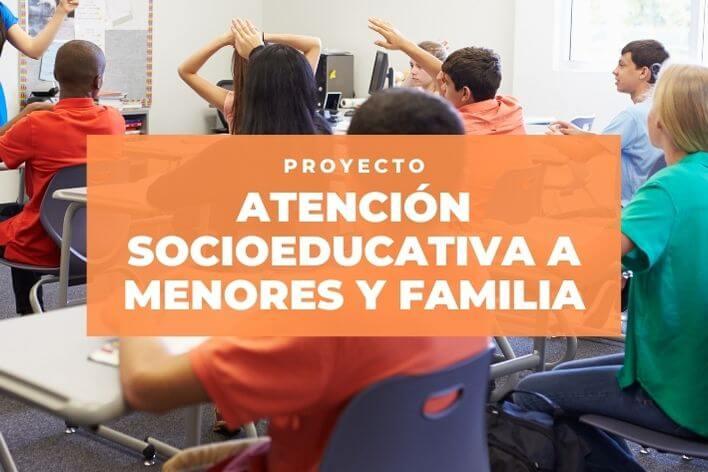 El proyecto de Atención socioeducativa a menores y familias continúa gracias al apoyo del Ministerio de Educación y Formación Profesional