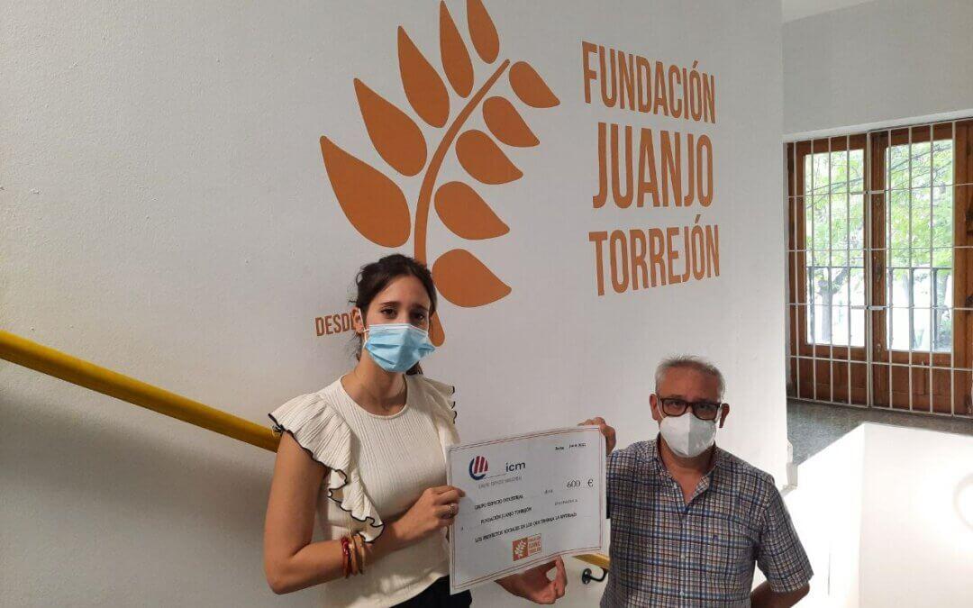 ICM Grupo Espacio Industrial colabora con los proyectos sociales que desarrolla Fundación Juanjo Torrejón